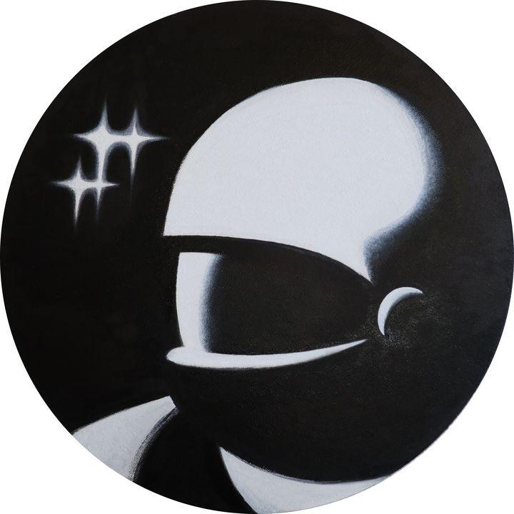 Astronaut portrait - Murzilka Ilya