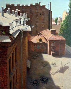 Yard on Petrogradskaya