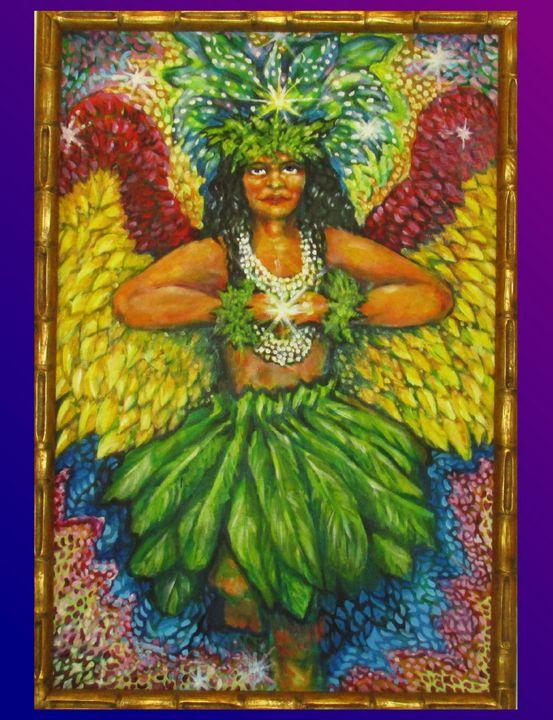 Angel of Hawaiian Spirit - Anna Mills Raimondi