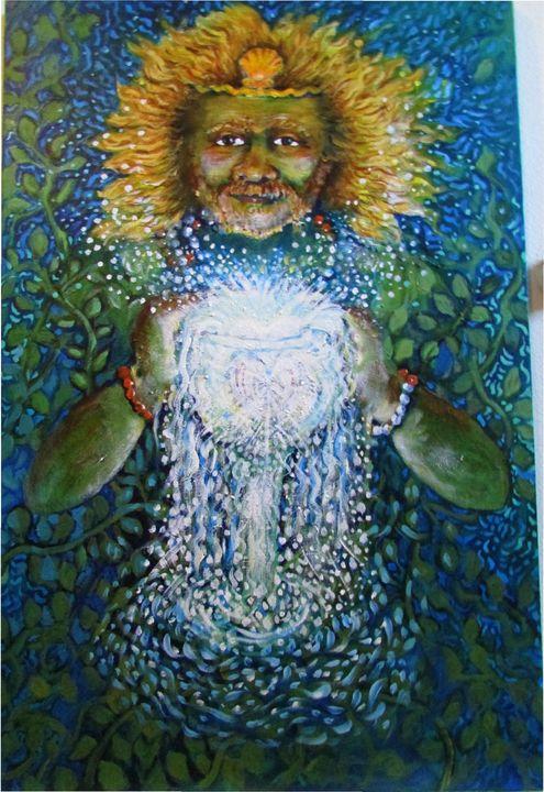 King of Water ( Emotional Realm) - Anna Mills Raimondi