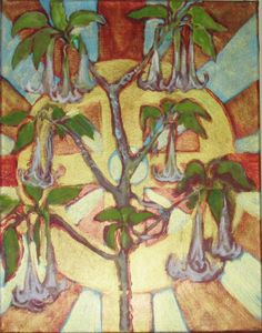 """""""Angel Trumpet and Celtic Cross"""""""