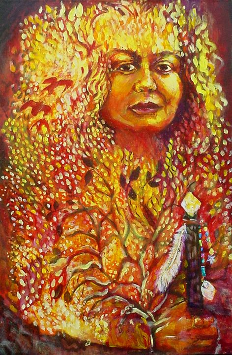 Queen of Fire (the spirit realm) - Anna Mills Raimondi