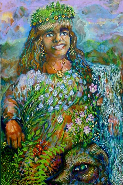 Mother of Earth (physical realm) - Anna Mills Raimondi