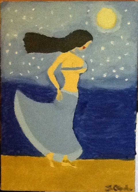 Walk on the beach - Sarah Ogutu