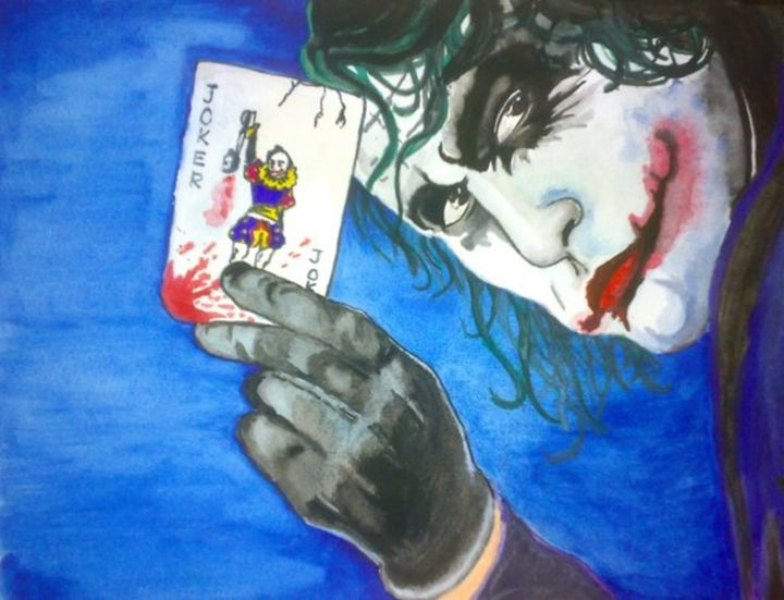 The Joker card - ImmortalArt