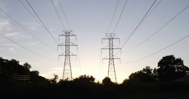 Twilight Powerlines - GuytoniousPhoto