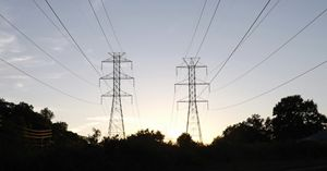 Twilight Powerlines