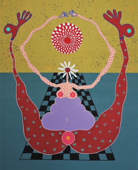 Acrobatic Flower Woman - BURPLI