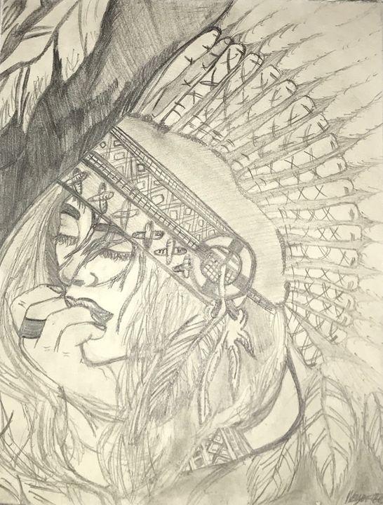 Cherokee - Art By Maya