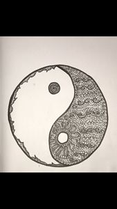 Zentangle Yin-Yang