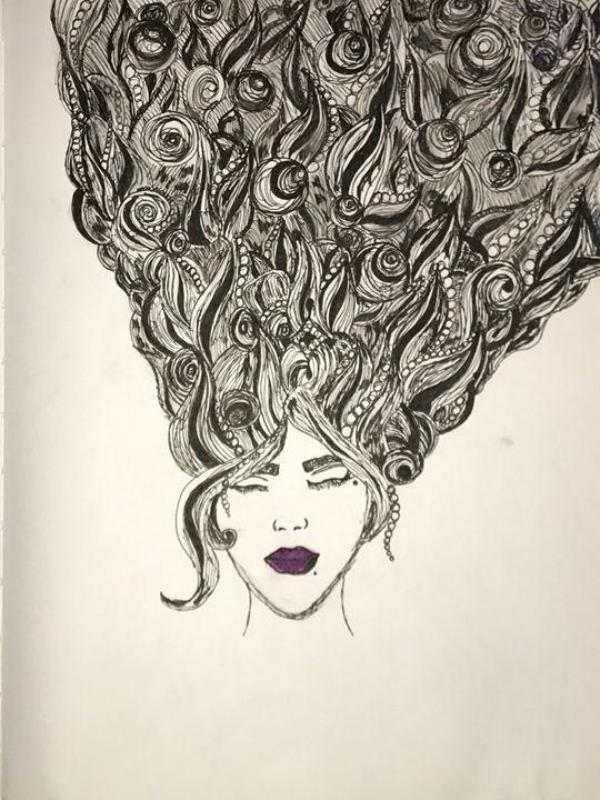 Clouded - Art By Maya