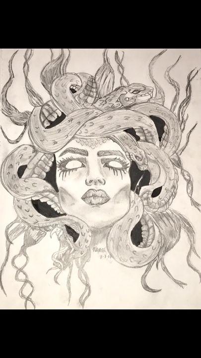 Medusa - Art By Maya