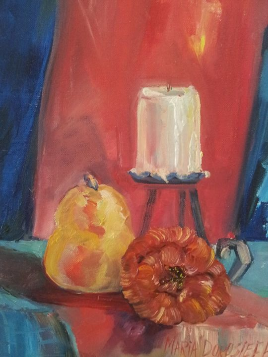 The candle - Mariya Doroseff