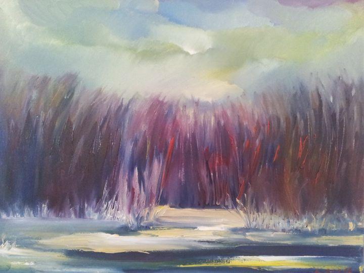 winter morning - Mariya Doroseff