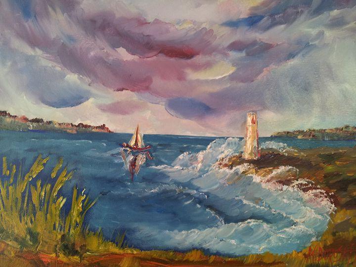 A lighthouse - Mariya Doroseff
