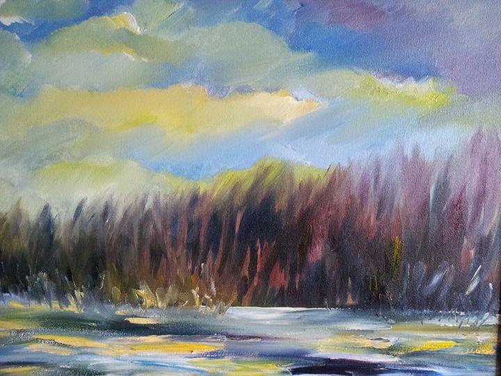 A warm winter day - Mariya Doroseff