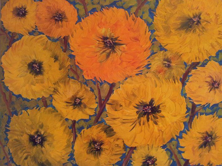 sunflowers - Mariya Doroseff