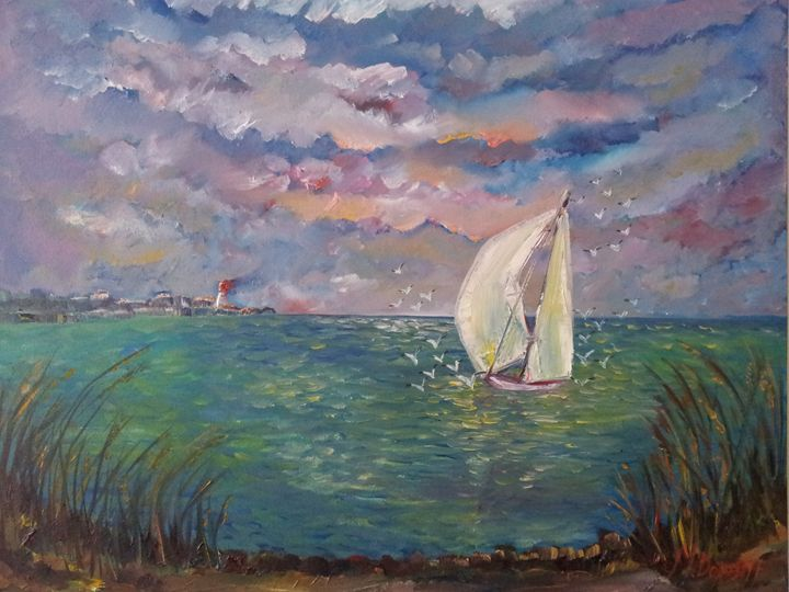 The old boat - Mariya Doroseff