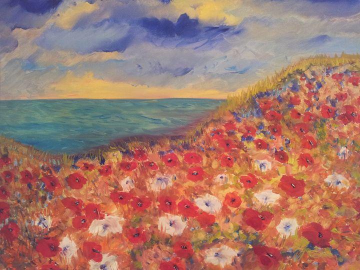 a Flower bed - Mariya Doroseff