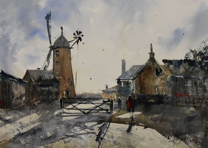 Callington Mill - Tony White Watercolour