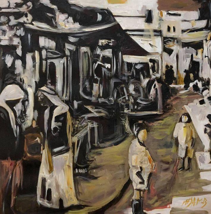 old market Jerusalem 1901 - Ihsan Bandak