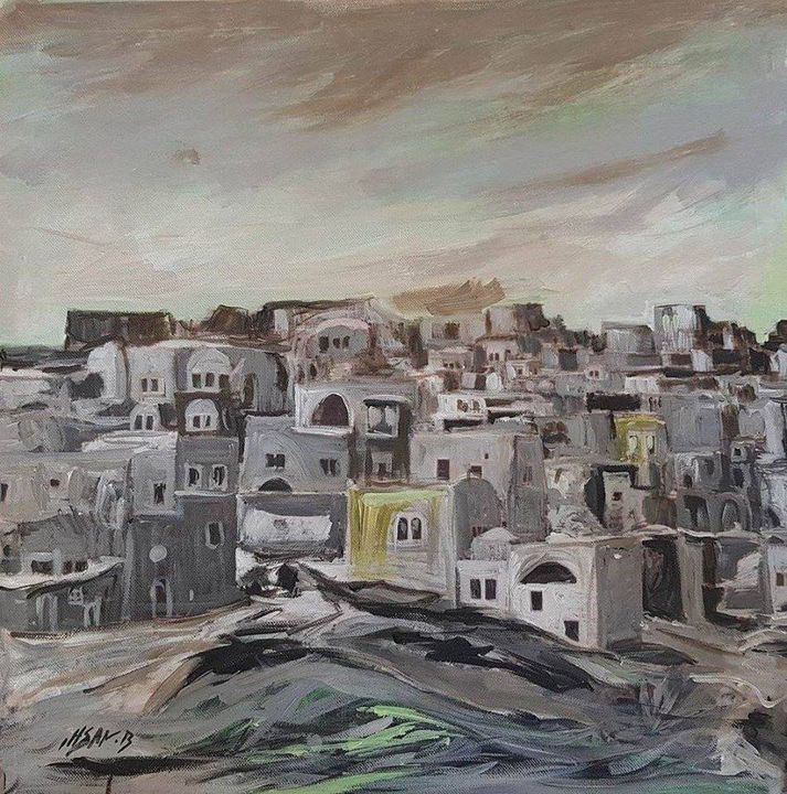 Old city in Palestine - Ihsan Bandak