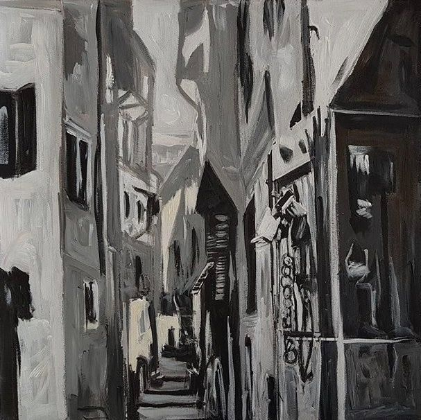Old neighbourhood in Bethlehem - Ihsan Bandak
