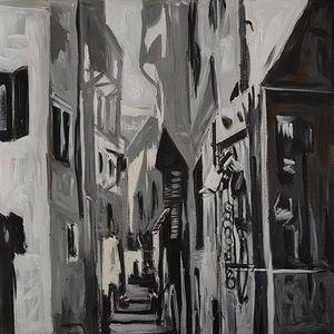 Old neighbourhood in Bethlehem