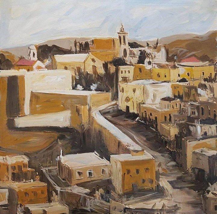 road between Jerusalem and Bethlehem - Ihsan Bandak