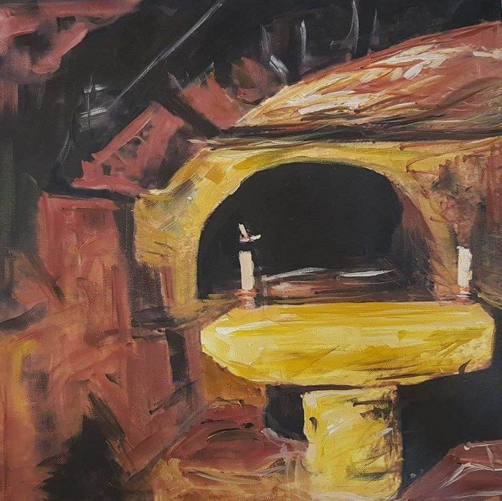 Cave beside Jerusalem - Ihsan Bandak