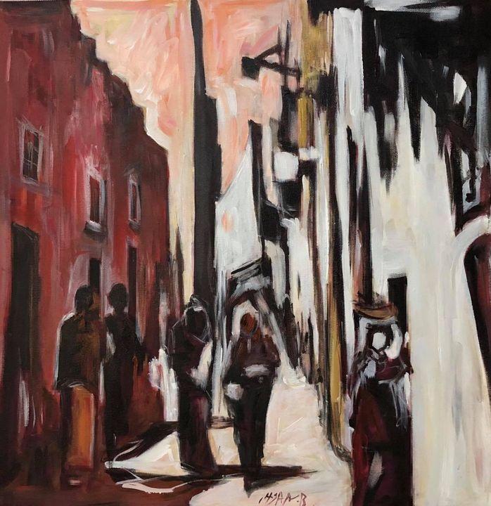 Old neighbourhood in Bethlehem 1934 - Ihsan Bandak