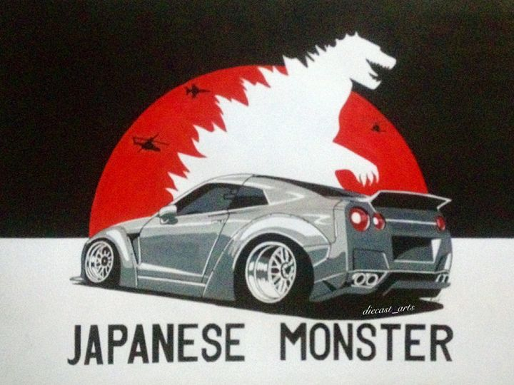 Nissan GT-R R35 - dreamArts7