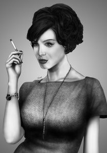 Mad Men Joan Holloway Drawing