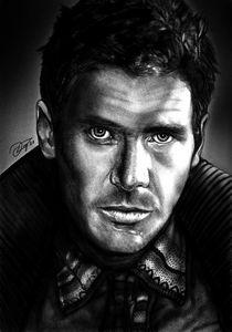 Blade Runner Deckard Drawing