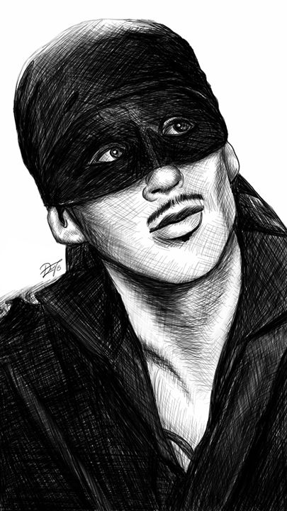 Dread Pirate Roberts - dlay.net - Digital Sketches