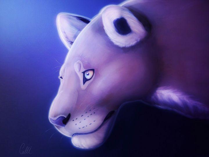 Moonlit huntress - Callisto's art