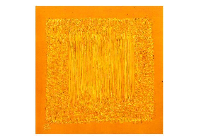 YELLOW  SQUARE - appasaheb art