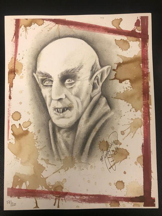 Nosferatu (Print) - Art by Matthew Jackson