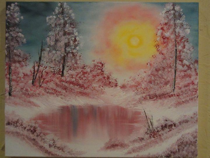 Winter Sun - Cai's Landscape Collection
