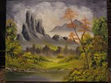 Oil Painting - Autumn Tranquility