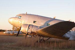 Decommissioned Convair 240 Airplane