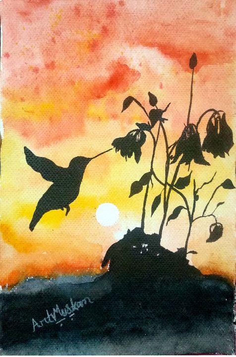 Chirping bird - Artmuskan
