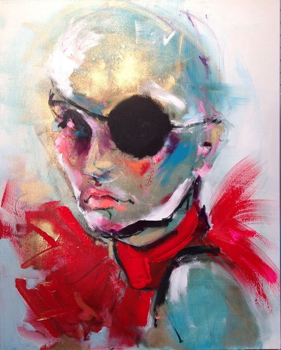 I can see you - Noelle Shawa Art