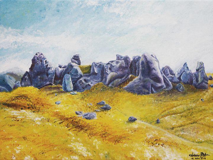 Rocks of Castle Hill - Prapatsorn_L