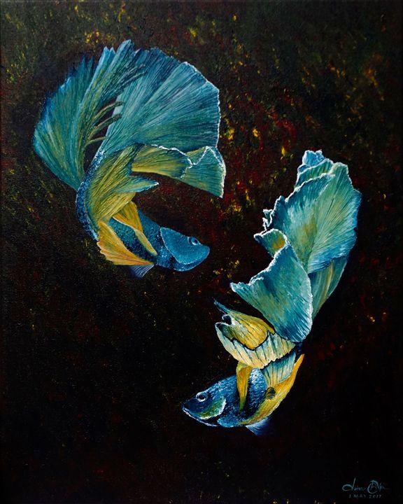Siamese Fighting Fish - Prapatsorn_L
