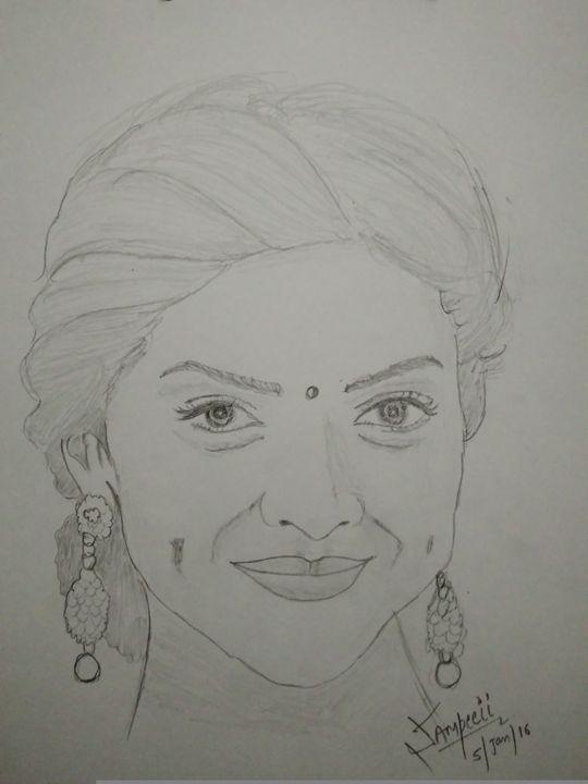 Deepika padukone - sketch