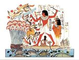 Egyptian art print