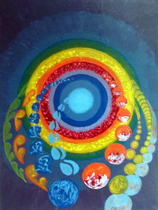 Cosmic War Bonnet - Bob Craig