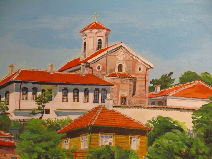 Nunnery in Kalofer. Bulgaria - Andrey Bulatov
