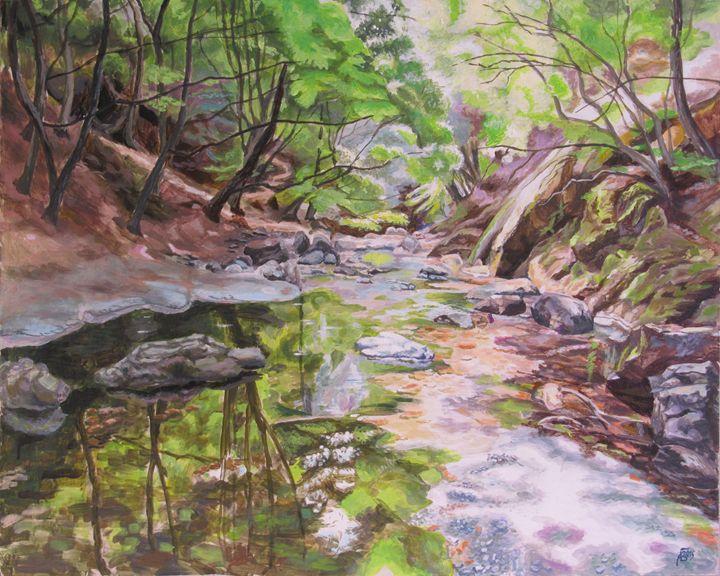 White River in National Park Central - Andrey Bulatov